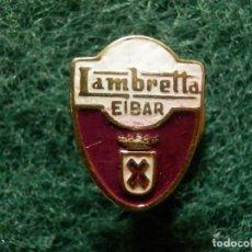 Pins de colección: INSIGNIA - PARA OJAL EN SOLAPA - LAMBRETTA - EIBAR - MOTOS - MOTOCICLETAS - MOTOCICLISMO . Lote 107827555