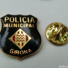 Pins de colección: PIN - ESCUDO POLICIA MUNICIPAL DE GIRONA. Lote 121186098