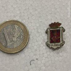 Pins de colección: PIN INSIGNIA ESCUDO VALENCIA CIUDAD AGUJA. Lote 108845915