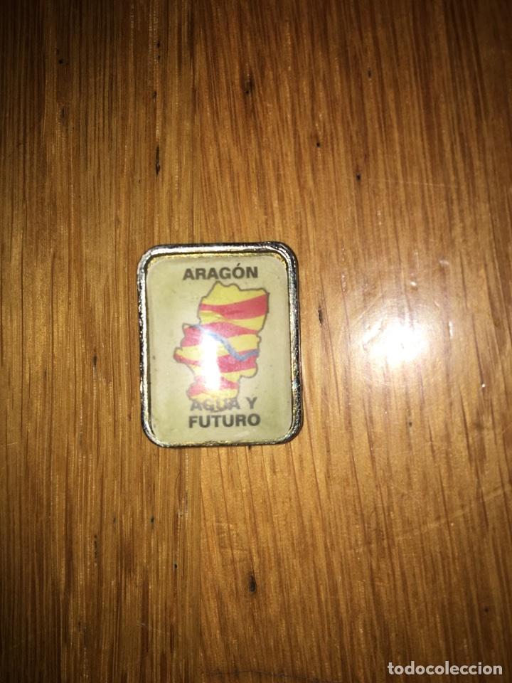 PIN ARAGÓN AGUA Y FUTURO (Coleccionismo - Pins)