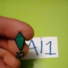 Pins de colección: PIN COMETA VERDE. Lote 109505359