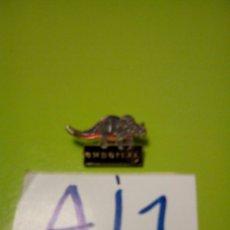 Pins de colección: PIN PUBLICIDAD CADENA ELECTRÓNICOS EXPERT DINOSAURIO. Lote 109505535