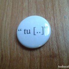 Pins de colección: CHAPITA CHAPA IMPERDIBLE -- TU [..]. Lote 110477035