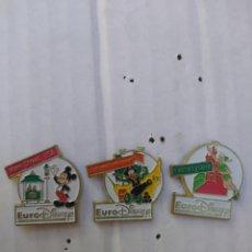 Spille di collezione: LOTE 3 PINS EURODISNEY. Lote 110782879