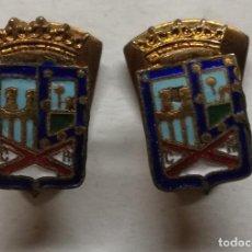 Pins de colección: DOS GEMELOS ANTIGUOS DEL CENTRO RIOJANO DE MADRID.. Lote 111717439