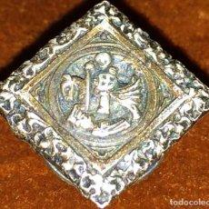 Pins de colección: PIN DE SOLAPA. SANT JORDI. PLATA DE 800/100. CINCELADA A MANO. ESPAÑA. SIGLOS XIX-XX. Lote 113260067