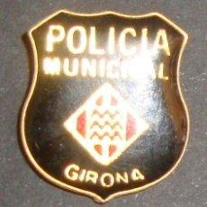 Pins de colección: (TC-113) PIN POLICIA MUNICIPAL GIRONA. Lote 113543875