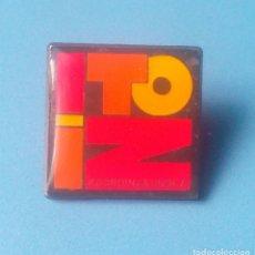 Pins de colección: PIN POLITICO. ITOIZ. COORDINADORA ANTI-EMBALSE. 1985. (PINS POLITICOS, CHAPAS POLITICAS). Lote 113645223
