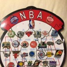 Pins de colección: NBA 31 PINS COLECCIÓN PIN. Lote 114101819