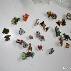 Pins de colección: LOTE DE ANTIGUOS PINS PIN . Lote 114430643