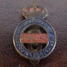 Pins de colección: INSIGNIA - PIN DE OJAL. VALOR, CONSTANCIA, LEALTAD Y MERITO. CABALLERO.. Lote 115243747