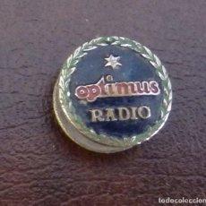 Pins de colección: ANTIGUO PIN DE OJAL OPTIMUS RADIO. Lote 115272927
