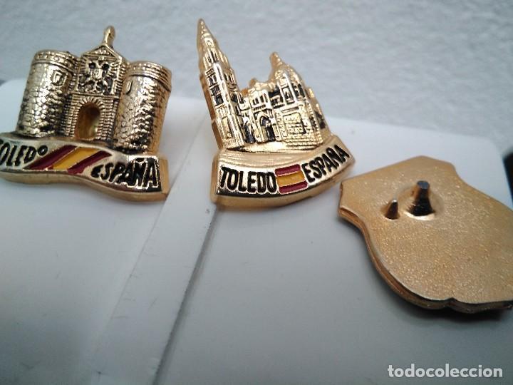 Pins de colección: Pins Toledo (uno pua rota) - Foto 2 - 115474527