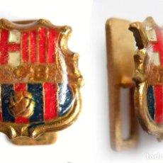 Pins de colección: INSIGNIA SOLAPA PIN ESCUDO DEL BARÇA FUTBOL CLUB BARCELONA. Lote 115604663