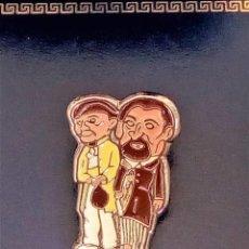 Pins de colección: PIN GIGANTES Y CABEZUDOS- FIESTAS SAN FERMIN DE PAMPLONA (NAVARRA). Lote 115737335