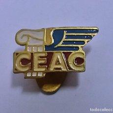 Pins de colección: ANTIGUA INSIGNIA OJAL SOLAPA - CEAC - . Lote 116550279