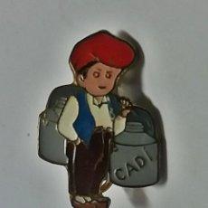 Pins de colección: ANTIGUA INSIGNIA AGUJA SOLAPA - LECHE CADI . Lote 116553747
