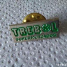 Pins de colección: 88-PIN TREBOL SUPERMERCADOS. Lote 117118347