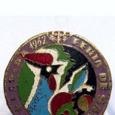 Pins de colección: PIN INSIGNIA DE SOLAPA PIN LLEIDA FERIA DE SAN MIGUEL LERIDA 1962 FIRA DE SAN MIQUEL 1962. Lote 117342683