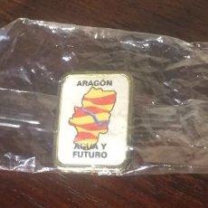 Pins de colección: PIN - ARAGÓN AGUA Y FUTURO. Lote 117566499