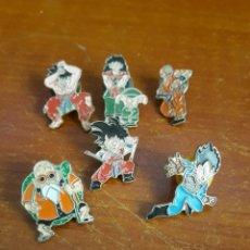 Pins de colección: 6 PIN DRAGON BALL. Lote 118597086