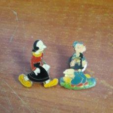 Pins de colección: 2 PIN POPEYE Y OLIVIA. Lote 118597116