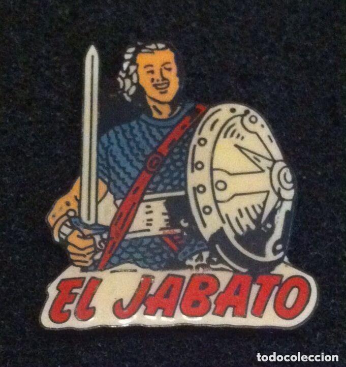 ANTIGUO PIN PERSONAJE DE COMIC EL JABATO (Coleccionismo - Pins)