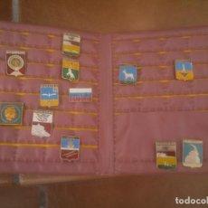 Pins de colección: COLECCION PINS CON CARTERA. Lote 118857463