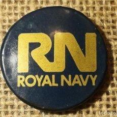 Pins de colección: RARO PIN DE LA ROYAL NAVY (DE ALFILER) . Lote 119487619