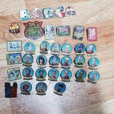 Pins de colección: LOTE DE 36 PINS BARÇA. Lote 119689591