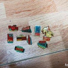 Pins de colección: LOTE 9 PINS COCACOLA. Lote 119709203