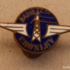 Pins de colección: INSIGNIA - PIN DE OJAL. RADIO CROSLEY. Lote 119936723