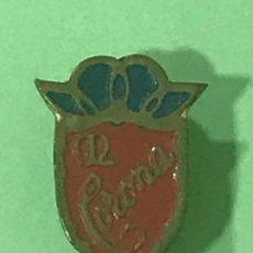 Pins de colección: CORONA - PIN PINS INSIGNIA INSIGNIAS OJAL SOLAPA. Lote 121067431