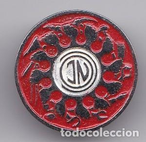 ANTIGUO PIN POLITICO DE AGUJA DE JN JUVENTUD NACIONALISTA DE LOS TRABAJADORES (Coleccionismo - Pins)