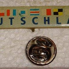 Pins de colección: PIN DE TURISMO BANDERAS. BANDERAS NAVALES ALEMANIA. Lote 121372795