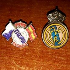 Pins de colección: 2 PINS REAL MADRID. Lote 121817098