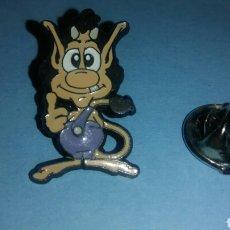 Pins de colección: PIN HUGO MASCOTA TELECUPON. Lote 136638741