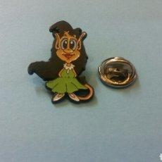 Pins de colección: PIN NOVIA HUGO MASCOTA TELECUPON. Lote 136638798