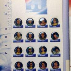 Pins de colección: COLECCIÓN LOS PINS DEL TOUR'95 DE EL MUNDO. Lote 122336602
