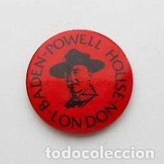 Pins de colección: CHAPA BADEN POWELL HOUSE. LONDON. Lote 122594499