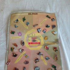 Pins de colección: COLECCIÓN DE 34 PINS ANDALUCIA EN EL CORAZON. Lote 122670551