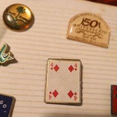 Pins de colección: PIN PARA COLECCIONISTA BARAJA DE CARTA POKER . Lote 136649192