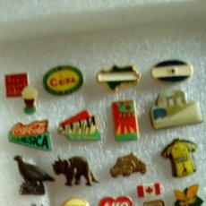 Pins de colección: LOTE DE 22 PINES VARIOS. Lote 123005768