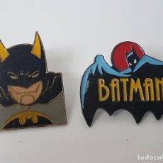 Pins de colección: LOTE PINS BATMAN ( AÑOS 90 ). Lote 124418515
