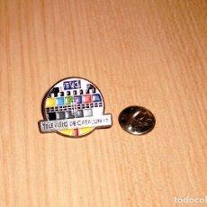 Pins de colección: PIN TELEVISIÓ DE CATALUNYA - FORMA CARTA DE AJUSTE. Lote 124937643