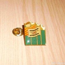 Pins de colección: PIN CATALUNYA RADIO (PRIMER LOGO). Lote 124938963