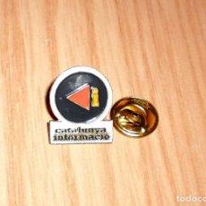 Pins de colección: PIN CATALUNYA INFORMACIÓ (CATALUNYA RADIO). Lote 124939247