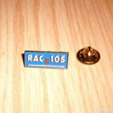 Pins de colección: PIN RAC 105 (EMISORA DE RADIO GRUPO CATALUNYA RADIO). Lote 124939595