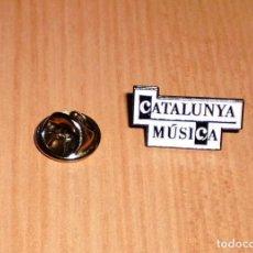 Pins de colección: PIN CATALUNYA MÚSICA (EMISORA DE RADIO GRUPO CATALUNYA RADIO). Lote 124939755