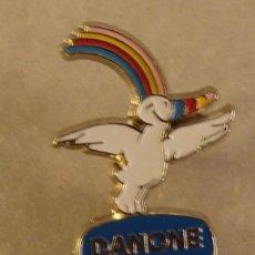 Pins de colección: PIN EXPO 92 SEVILLA, CURRO PUBLICIDAD DANONE, RARO. Lote 126352395